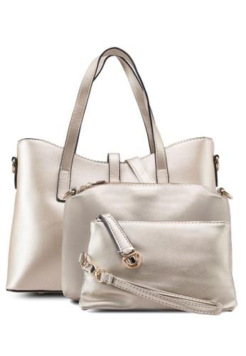 三入仿皮托特esprit 品牌包組合, 包, 手提包