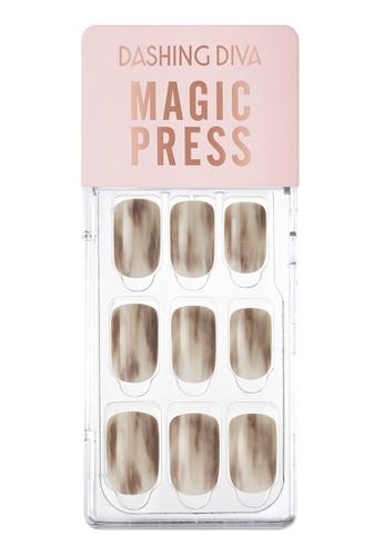 Dashing Diva beige Dashing Diva 1 SEC. MAGIC PRESS Manicure Vintage Beige/ Press on Nails /Nail Tips ECD9CBE46F767CGS_1