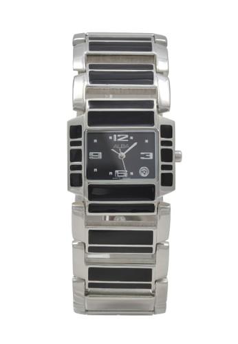 Alba black and silver ALBA Jam Tangan Wanita - Silver Black - Stainless Steel - AXT957 F5BE4ACE51BD87GS_1