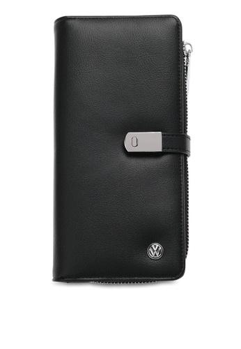 Volkswagen black RFID Long Purse C754DACABEEA65GS_1