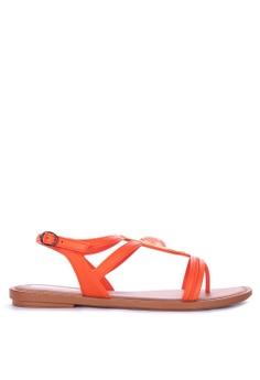 8db5841e2 Grendha orange Exotica Sandal Fem Sandals 67742SH296805CGS 1