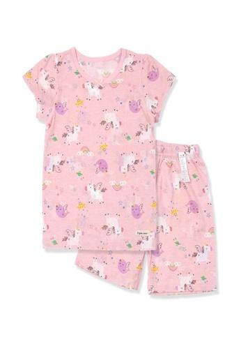 Organic mom pink Organic Cotton Lena Pony Pajamas DEFDEKAA479EE2GS_1