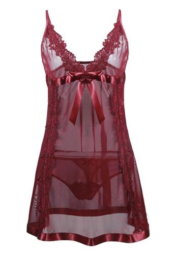 SMROCCO Kate Plus Size Nightie Sleepwear PL8015 SM066US0S9WFMY_1