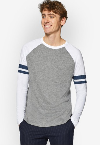 ESPRIT grey Long Sleeve T-Shirt CC7D4AAAA672E2GS_1