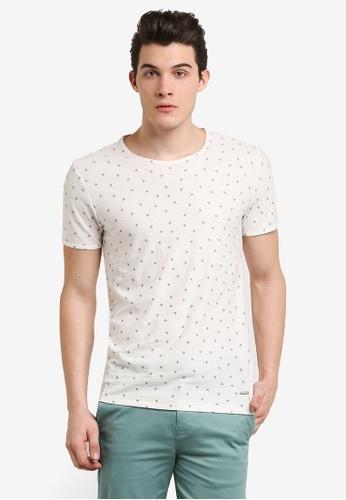 Boss Orange white Toughts T-Shirt BO434AA0RIDYMY_1