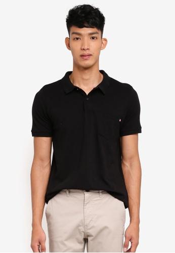 Cotton On black Icon Polo Shirt CE241AA646C9B0GS_1