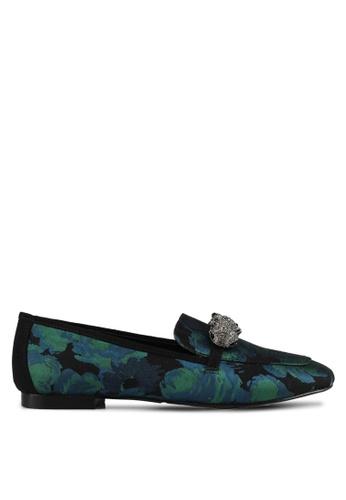 Carvela KG green Embellish Loafers 43D21SH0543FA3GS_1