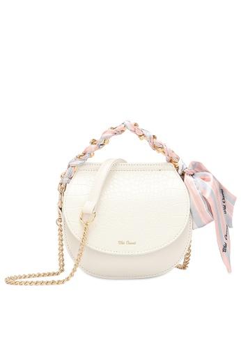 Wild Channel 白色 Women's Hand Bag / Top Handle Bag 8ECAEAC5C6ECC7GS_1