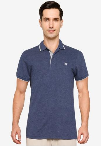 LC Waikiki navy Basic Short Sleeve Polo Shirt 81C30AAA1CA3BCGS_1