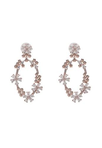 ALDO pink Thoan Pierced Earrings 04C17AC8798F8EGS_1