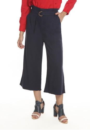 et cetera navy Solid Long Pants Casualwear C6388AA50179ACGS_1