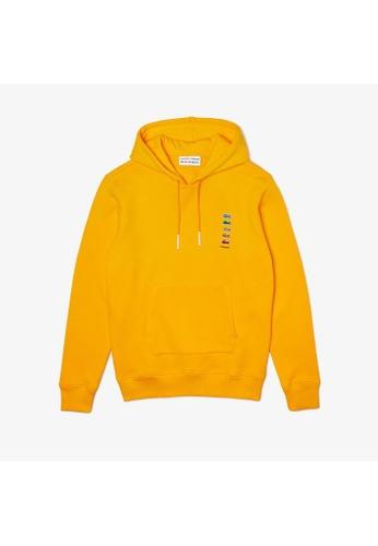 Lacoste yellow Unisex Polaroid Collaboration Cotton Fleece Sweatshirt 5B7C1AACC6F45CGS_1