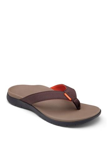 Vionic brown Men's Tide Toe Post A2B40SH05BEF3DGS_1