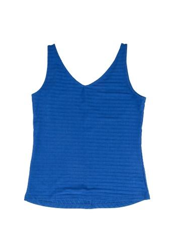 LC Waikiki blue Girl's Printed Cotton T-Shirt B5ECBKA288678DGS_1