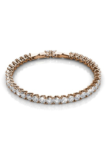 Krystal Couture 金色 KRYSTAL COUTURE Honey Bracelet Embellished with Swarovski crystals 0E529ACCCC1B5AGS_1
