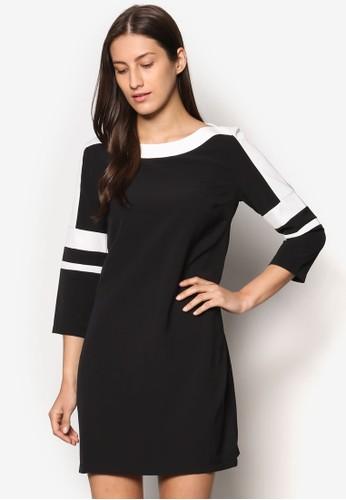 Collection 色塊直筒式連身裙, 服飾,esprit旗艦店 洋裝