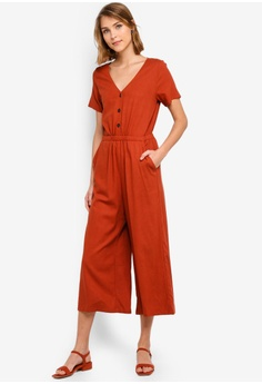 549252278d76 Cotton On red and orange Woven Iris Jumpsuit C7697AA9D6F824GS 1