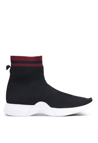 Mango 黑色 襪套運動鞋 3A310SH9B99EE5GS_1