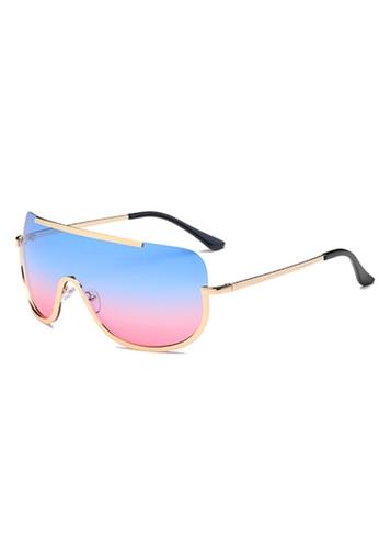 Amora Scarlett blue Cyborg Lane Eyewear in See Through Ombre Pink-Blue 97310GL1EAFFC7GS_1