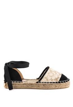 【ZALORA】 London Rag女士平底布涼鞋 SH1096