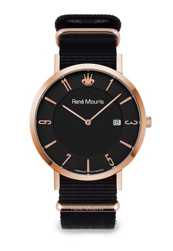 René Mouris black L'Emporter - 41mm Classic Quartz Watch 02EE5AC54FB32FGS_1