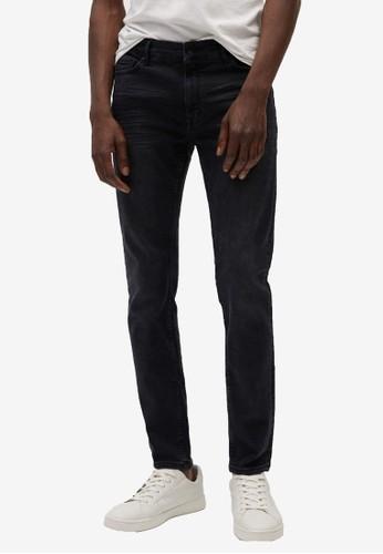 MANGO Man grey Skinny-Fit Light Grey Jude Jeans DD4C4AA97EAF46GS_1