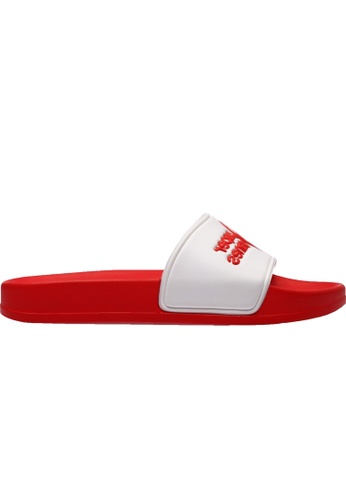 paperplanes white and red Paperplanes-1357 Daily Comfort Casual Slippers Shoes US Women Size PA355SH89QNYSG_1