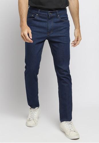 PAULMAY blue PAULMAY Celana Panjang Jeans Pria Slim Fit - Diewash 716E4AA196EF3FGS_1