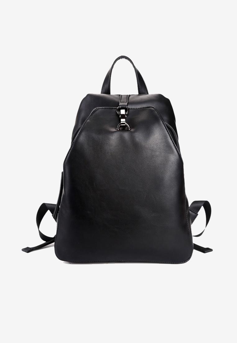 Men Lara Black Solid Backpack black Friday qfxxzd