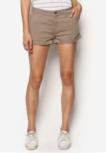 The Slant 口袋奇諾短褲, esprit童裝門市服飾, 服飾
