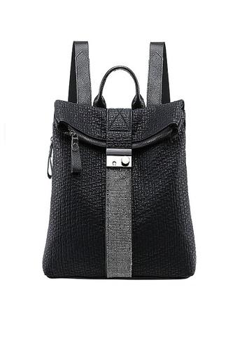 Twenty Eight Shoes black VANSA Rhinestones Backpacks VBW-Bp682 47612AC59382AEGS_1