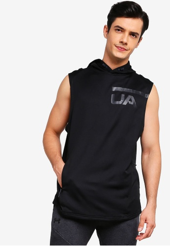 f742398dd Shop Under Armour Mk1 Terry Sleeveless Hoodie Online on ZALORA Philippines