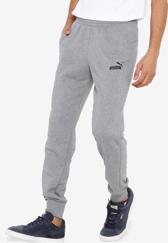 PUMA grey Essentials Logo Men's Sweatpants C6985AAD68C8DEGS_1