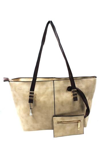 Vintage Paris multi Vintage Paris Lavinia Shoulder Leather Bag VI567AC58TQJPH_1