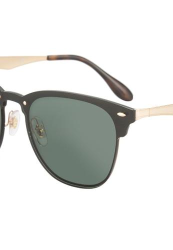 0274e6bbb Buy Ray-Ban Blaze Clubmaster RB3576N Sunglasses Online | ZALORA Malaysia