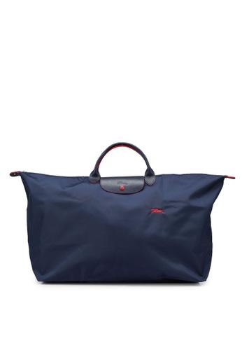 LONGCHAMP blue Le Pliage Club Travel Bag XL (nt) BA586ACDF191E5GS_1