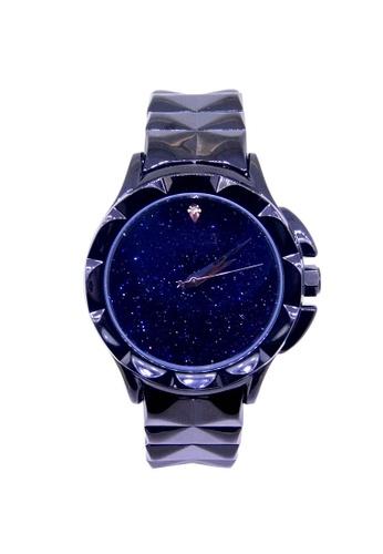 Sk Time Watch Shop black 18K Gold Plating Fashion Bracelet Crystal Watch SK518AC05AISPH_1
