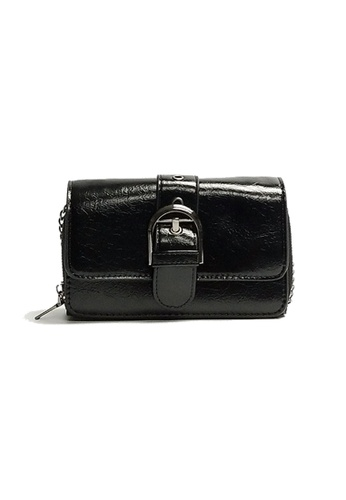 Lara black Women's Small Sling Bag -Black 2557BAC88C0B88GS_1