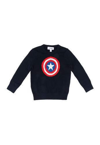 GAP blue Marvel Sweater 8AE9EKA8E36B9DGS_1
