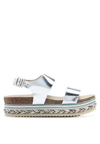 Carvela KG silver Kitten Sandals CA459SH0T23SMY_1