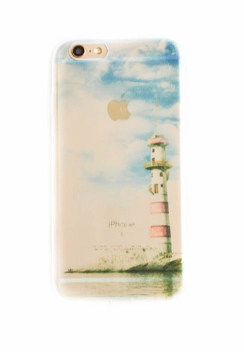 Fancy Cellphone Cases multi Light House Soft Transparent Case for iPhone 6/6s FA644AC77RZIPH_1