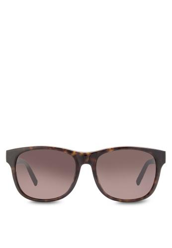Boss Orange brown Trendy Faceted Temples Sunglasses BO434GL91HRSMY_1