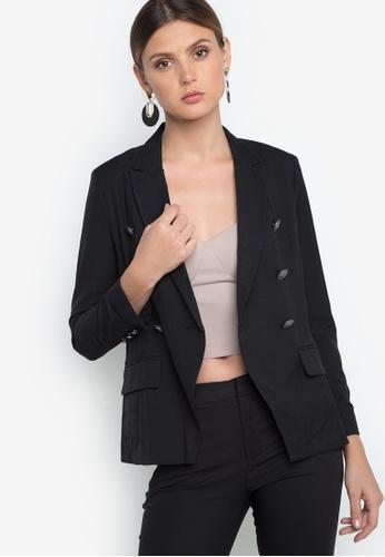 Maldita black Maldita Double Breasted Blazer MA786AA68EFZPH_1