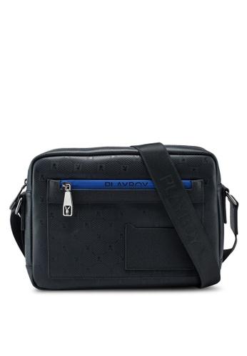 Playboy blue Sling Bag 26004AC51A6B1AGS_1