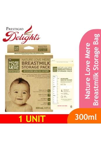 Prestigio Delights black Nature Love Mere Breastmilk Storage Bag 300ml A3338ESAC2F575GS_1