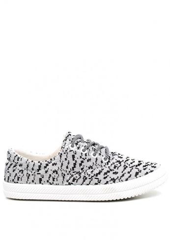 New York Sneakers grey Shae Women's Low Cut Shoes E286CSHFF45D76GS_1