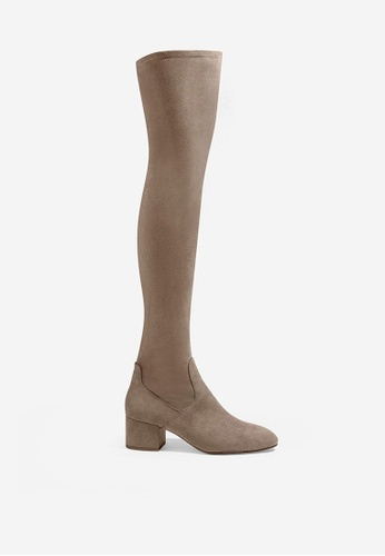 ASH 褐色 Diva - 棕色靴 F8242SH24CD96BGS_1