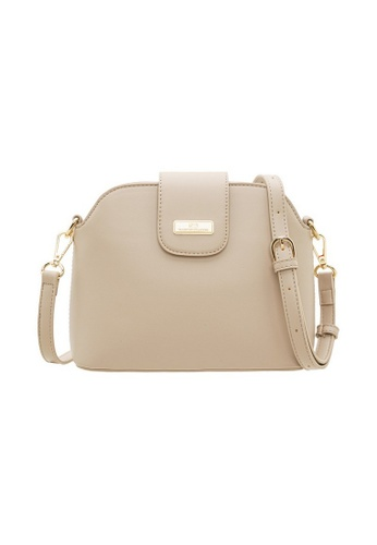 Valentino Creations beige Valentino Creations Tracy Sling Bag 91674ACDD3C7B9GS_1