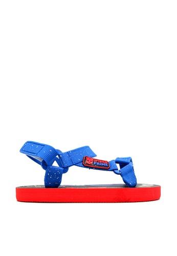 Transformers black and blue Transformers Sandals 6D758KS718EDC5GS_1