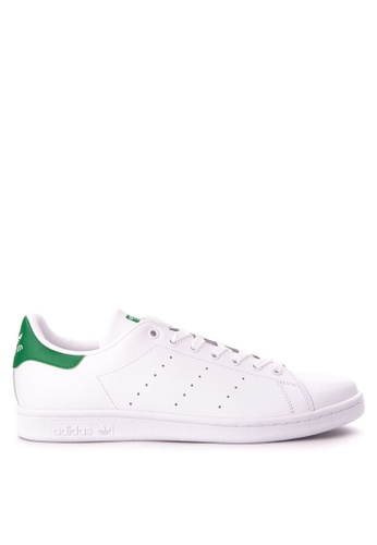 adidas white adidas originals stan smith AD372SH15OUEMY_1